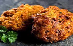 Onion & Spinach Bhaji (V, FN, D, J, C)