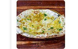 Cheese & Garlic Kulcha (FN, C)
