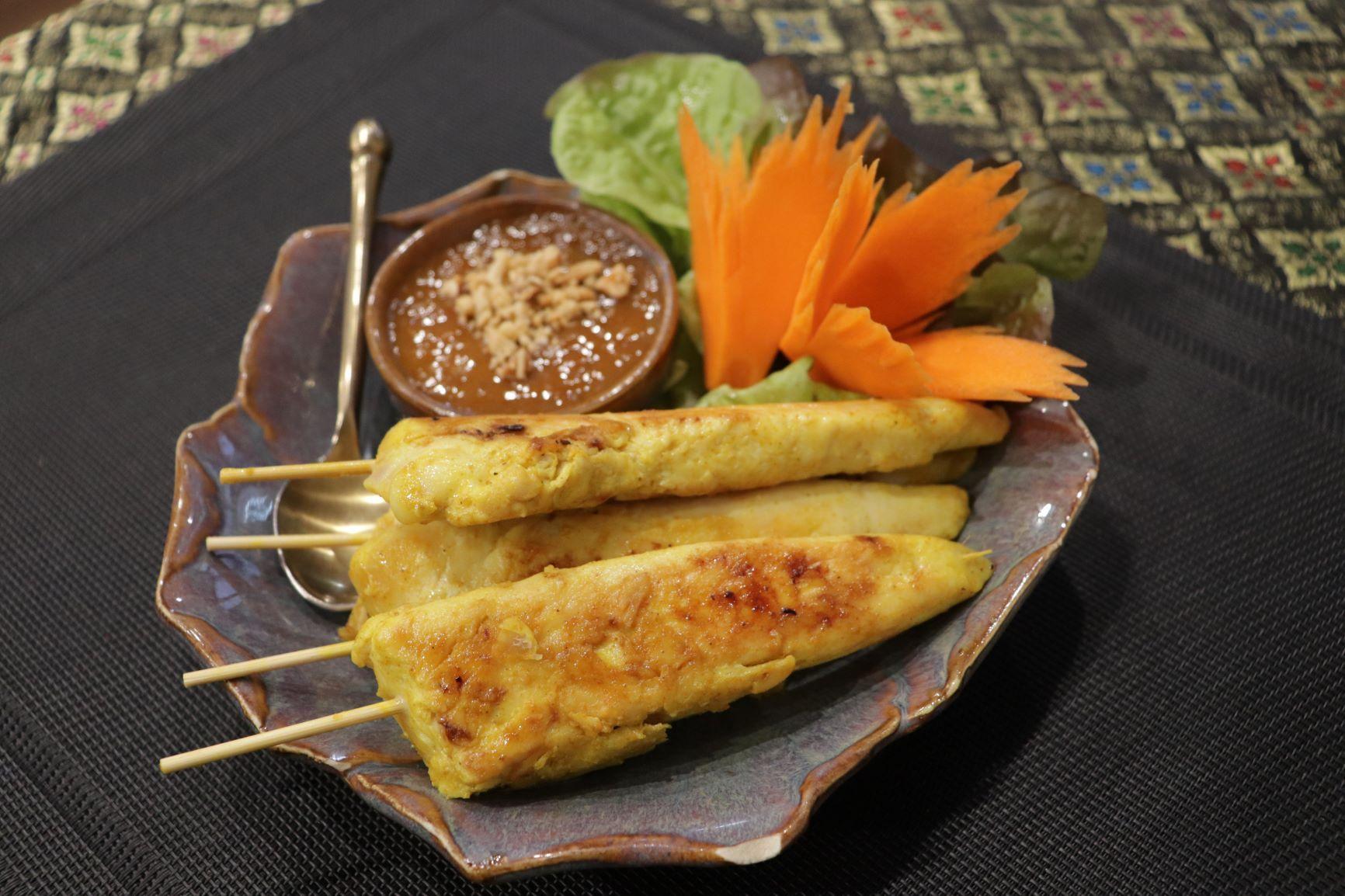 Satay Chicken (4 Pcs)