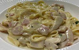Fettuccini Chicken Carbonara