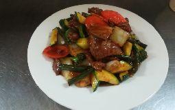 Beef Szechwan Style