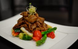 Beef on Black Bean Sauce with Vegetables