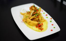 Calamari with Salt and Pepper (In Batter)