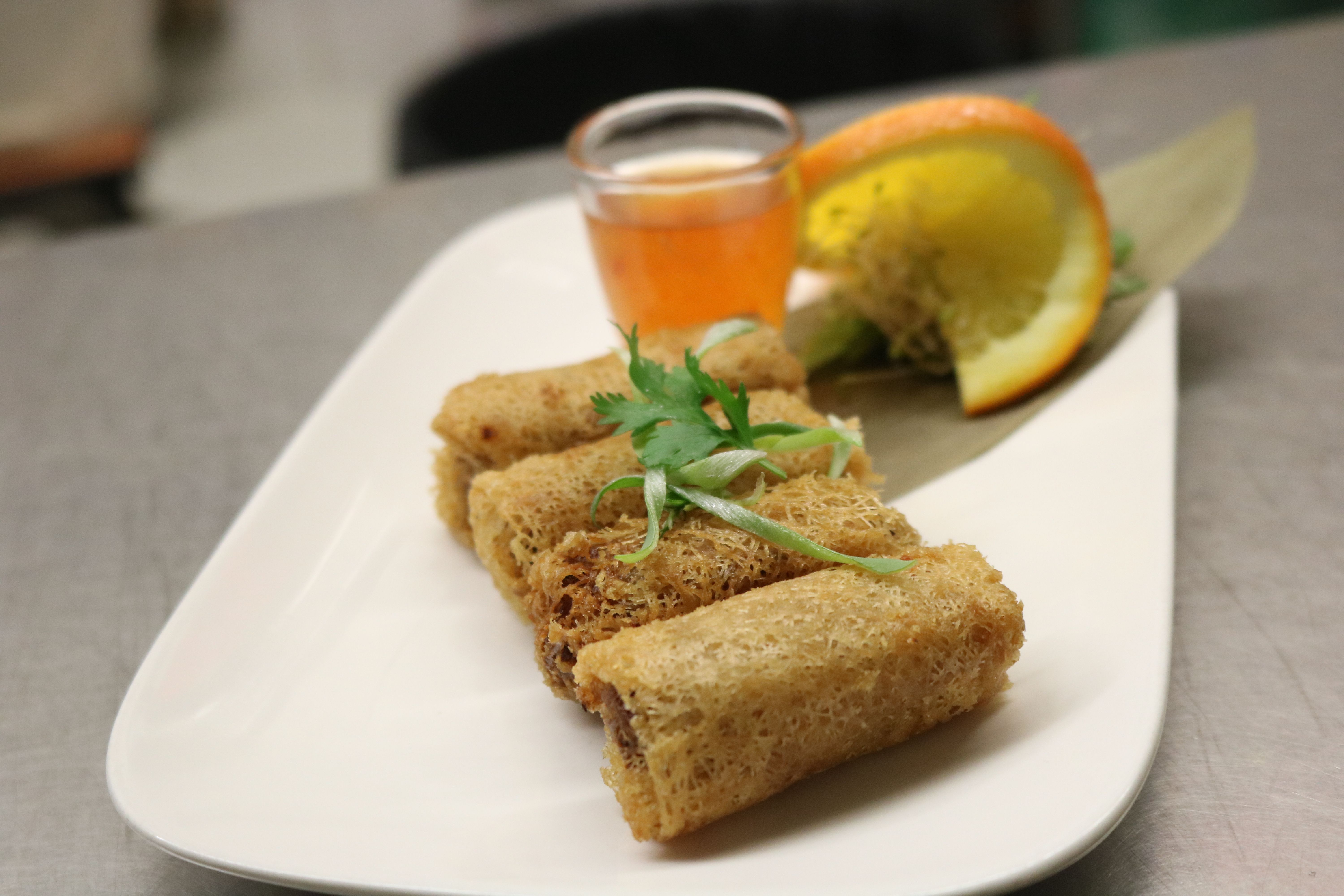 Seafood net spring roll (4pcs)