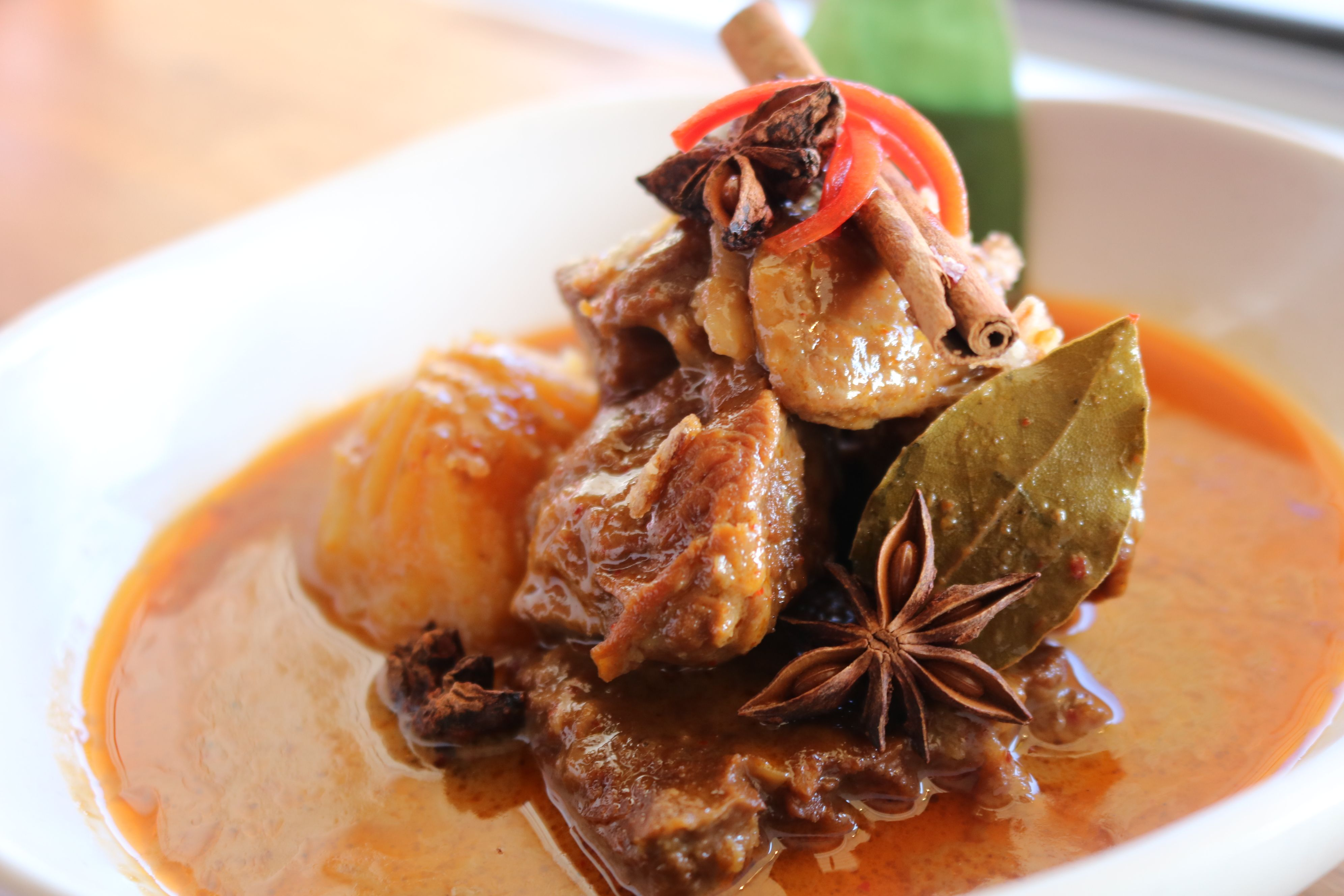 Massaman curry beef only