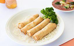 Vegetarian Spring Rolls (4)