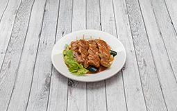 Satay Chicken Skewers (4)