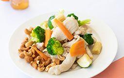Chicken with Cashew Nuts