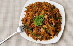 Chicken Kothu Porotta