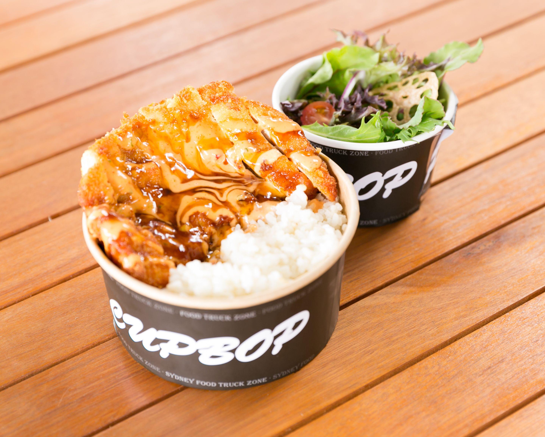 Chicken Katsu Cupbop