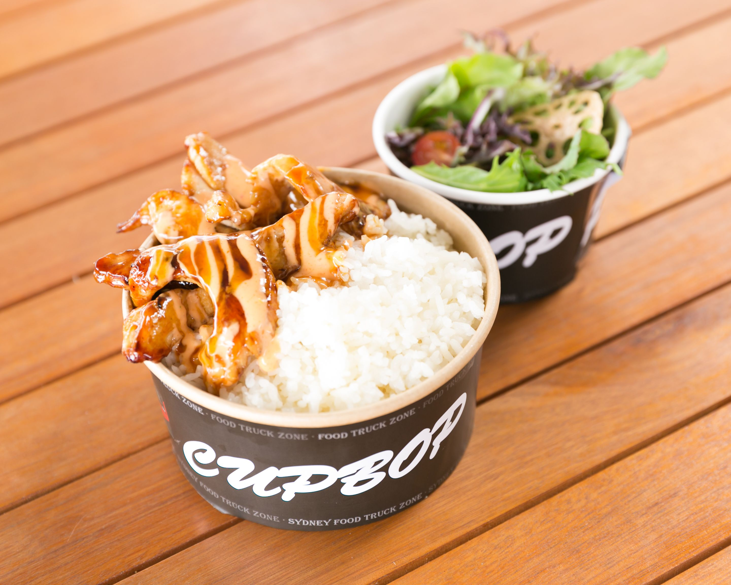 Teriyaki Chicken Cupbop