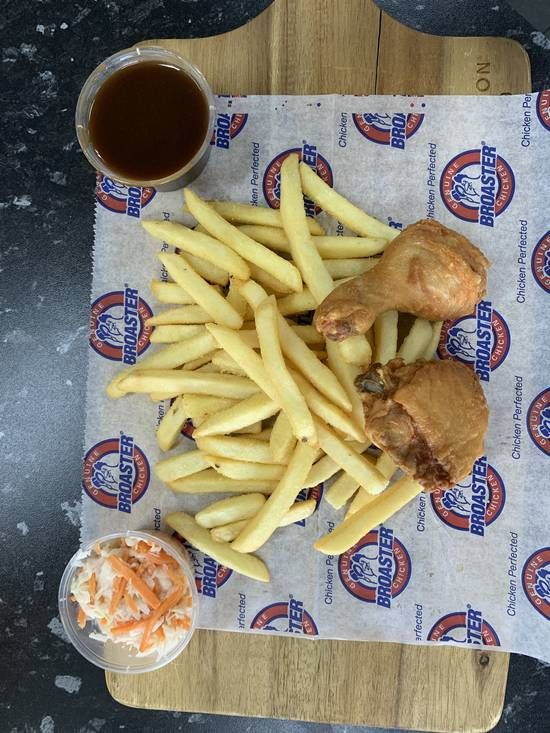 Broaster Chicken Snack Pack