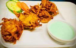 Onion Bhaji - 4 Pieces