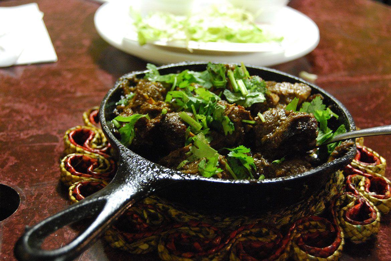 Beef Kashmiri