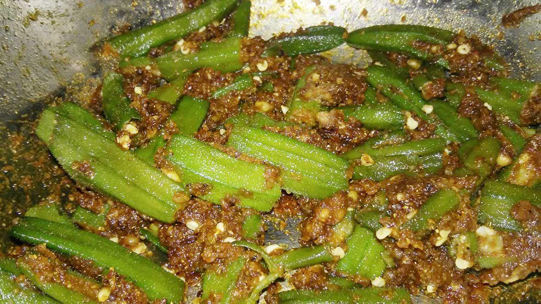 Bhindi Fried Masala