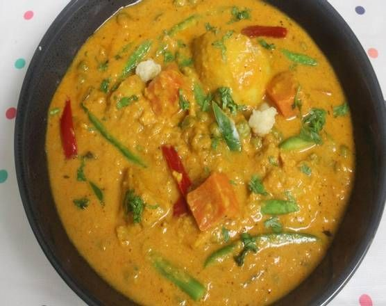 Vegetable Korma Curry (V)