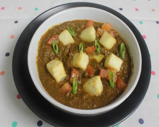 Palak Paneer (Spicy)