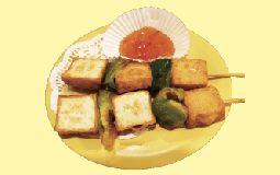Fish Tofu Skewers