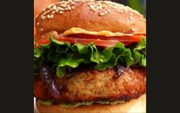 Vegan Chicken Burger