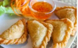 Vegetarian Curry Puffs
