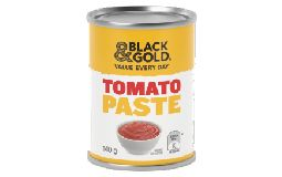 Black & Gold Tomato Paste 140g