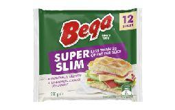 Bega Cheese Super Slim Slice 250g