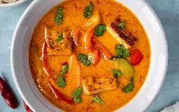 Vegan Red Curry with Pumpkin & sweet Potato