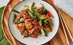 Vegan Stir Fry Spicy Aussie Noodles
