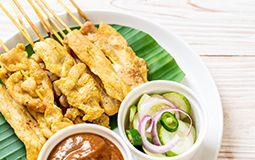 Satay Chicken Skewer (GF)