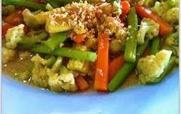 Stir Fry Garlic and Pepper