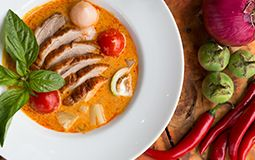 Red Curry Duck with Pineapple (GF)