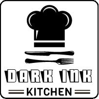 Dark ink kitchen