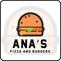 Ana's pizza and burgers