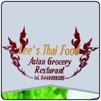 Lee's Thai Food